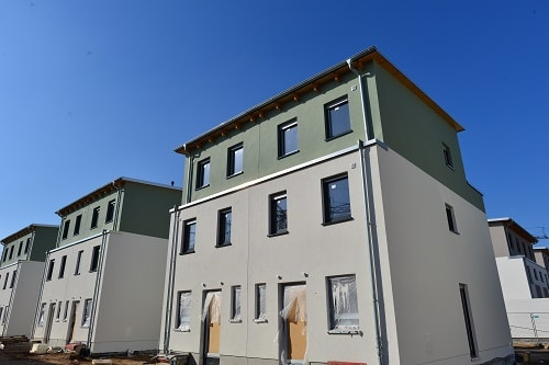 Neubaugebiet Doppelhaushälften